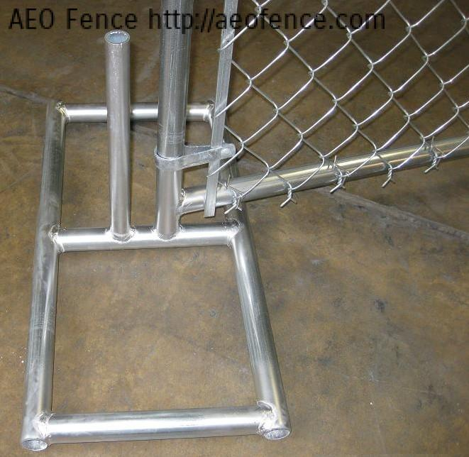 Chain link style « AEO Wire Mesh Fence Ornamental Aluminum