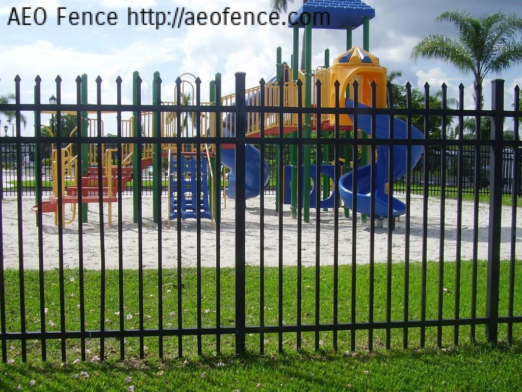Aluminum Playground Fence 171 Aeo Wire Mesh Fence Ornamental