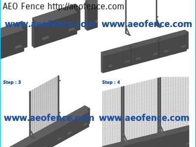 High Security Temporary Fence